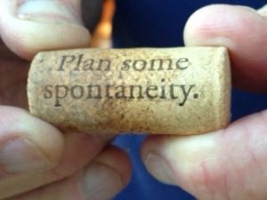 What Next? How to be Spontaneous